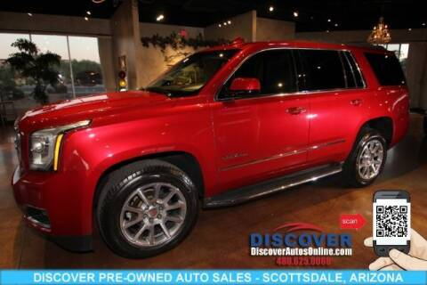 2015 GMC Yukon for sale at Discover Pre-Owned Auto Sales in Scottsdale AZ