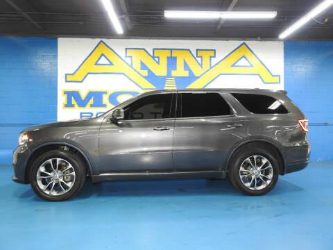 2019 Dodge Durango for sale at ANNA MOTORS, INC. in Detroit MI
