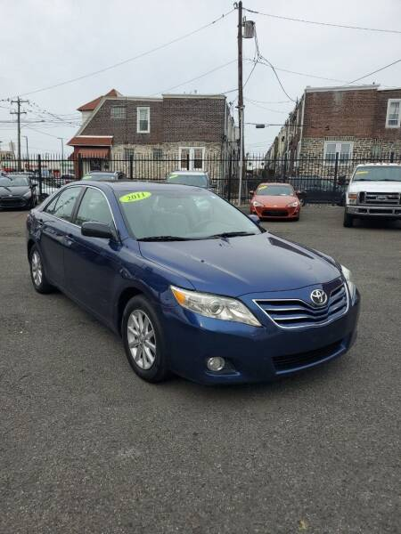 2011 Toyota Camry for sale at Key & V Auto Sales in Philadelphia PA