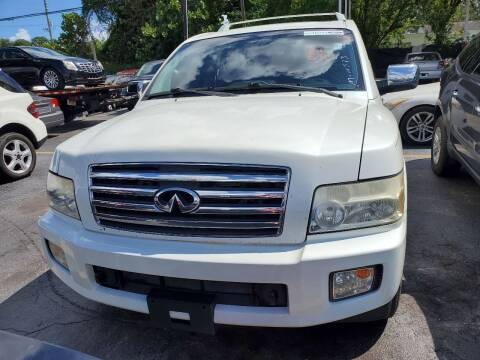2006 Infiniti QX56 for sale at America Auto Wholesale Inc in Miami FL