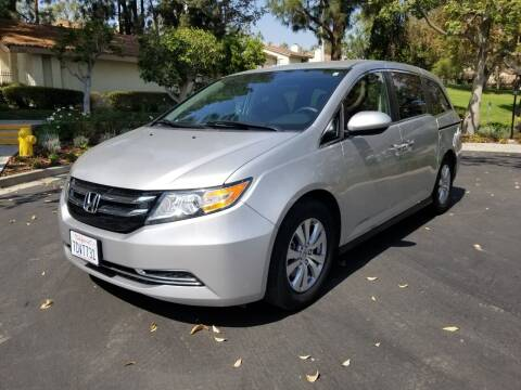 2014 Honda Odyssey for sale at E MOTORCARS in Fullerton CA