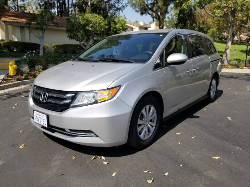2014 Honda Odyssey for sale at E MOTORCARS in Fullerton CA