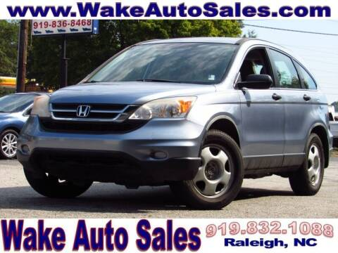 2011 Honda CR-V for sale at Wake Auto Sales Inc in Raleigh NC