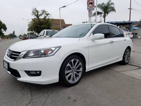 2015 Honda Accord for sale at Olympic Motors in Los Angeles CA