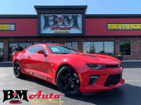 2018 Chevrolet Camaro for sale at B & M Auto Sales Inc. in Oak Forest IL