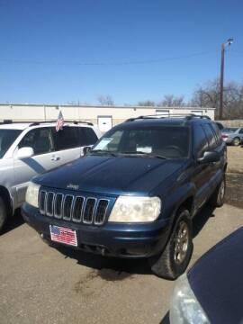 2001 Jeep Grand Cherokee for sale at L & J Motors in Mandan ND