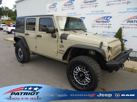 2017 Jeep Wrangler Unlimited for sale at PATRIOT CHRYSLER DODGE JEEP RAM in Oakland MD