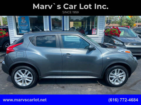 2012 Nissan JUKE for sale at Marv`s Car Lot Inc. in Zeeland MI