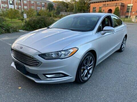 2017 Ford Fusion for sale at Broadway Motoring Inc. in Arlington MA