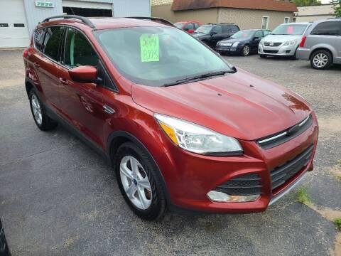 2014 Ford Escape for sale at Van Kalker Motors in Grand Rapids MI