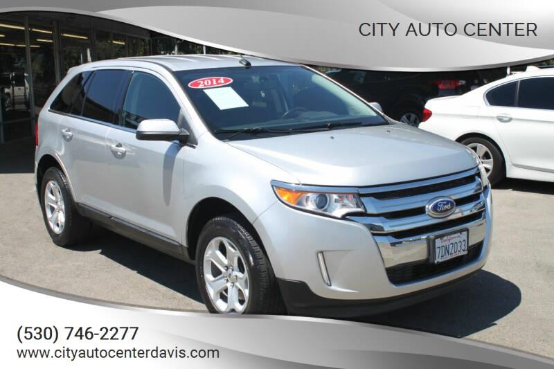 2014 Ford Edge for sale at City Auto Center in Davis CA