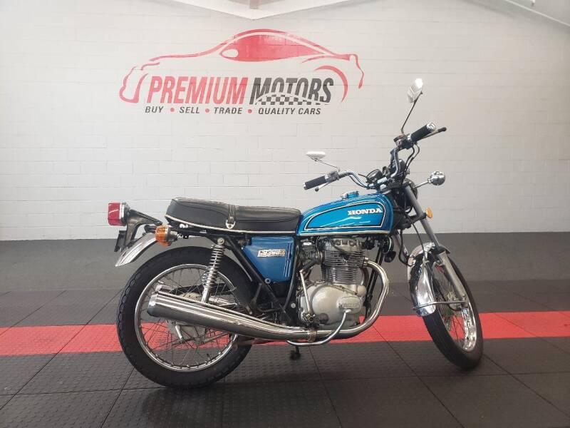 1976 Honda CB360T for sale at Premium Motors in Villa Park IL