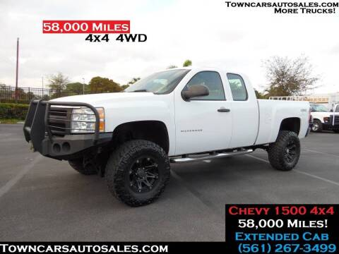 2011 Chevrolet Silverado 1500 for sale at Town Cars Auto Sales in West Palm Beach FL
