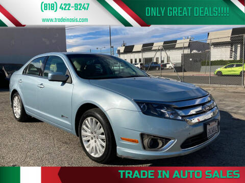 2010 Ford Fusion Hybrid for sale at Trade In Auto Sales in Van Nuys CA