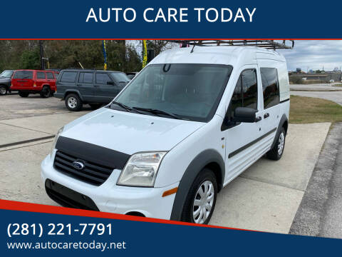 2013 Ford Transit Connect for sale at AUTO CARE TODAY in Spring TX