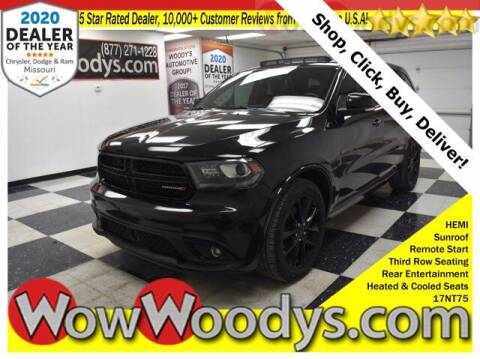 2017 Dodge Durango for sale at WOODY'S AUTOMOTIVE GROUP in Chillicothe MO
