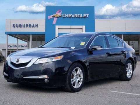 2010 Acura TL for sale at Suburban Chevrolet of Ann Arbor in Ann Arbor MI