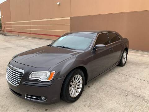 2013 Chrysler 300 for sale at ALL STAR MOTORS INC in Houston TX