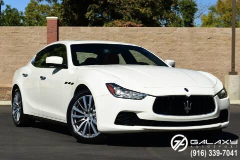 2016 Maserati Ghibli for sale at Galaxy Autosport in Sacramento CA