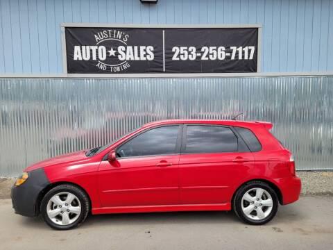 2009 Kia Spectra for sale at Austin's Auto Sales in Edgewood WA