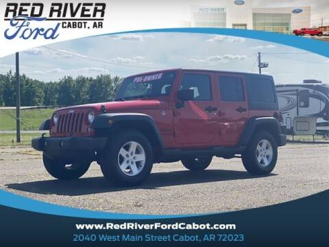 2018 Jeep Wrangler JK Unlimited for sale at RED RIVER DODGE - Red River of Cabot in Cabot, AR
