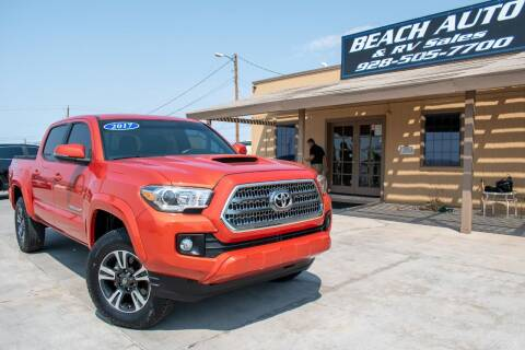 2017 Toyota Tacoma for sale at Beach Auto and RV Sales in Lake Havasu City AZ