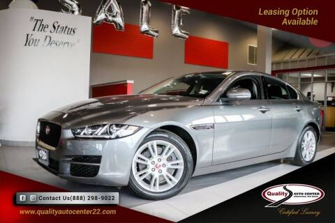 2018 Jaguar XE for sale at Quality Auto Center in Springfield NJ