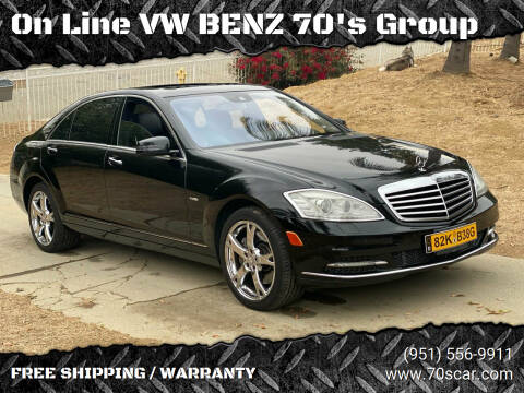 2012 Mercedes-Benz S-Class for sale at On Line VW BENZ 70's Group in Warehouse CA