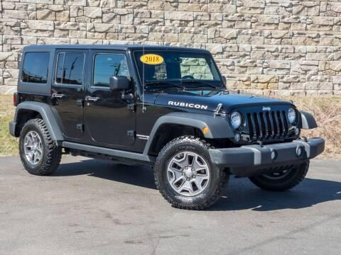 2018 Jeep Wrangler JK Unlimited for sale at Car Hunters LLC in Mount Juliet TN