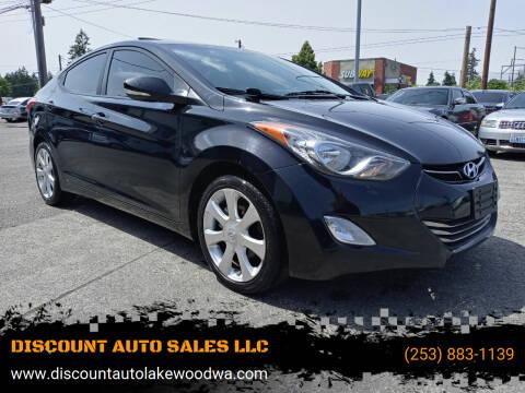 2012 Hyundai Elantra for sale at DISCOUNT AUTO SALES LLC in Spanaway WA