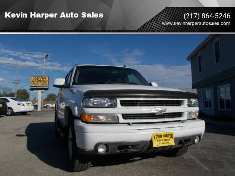 2006 Chevrolet Tahoe for sale at Kevin Harper Auto Sales in Mount Zion IL