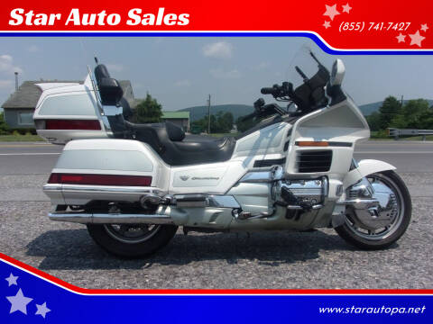 2000 Honda Goldwing for sale at Star Auto Sales in Fayetteville PA