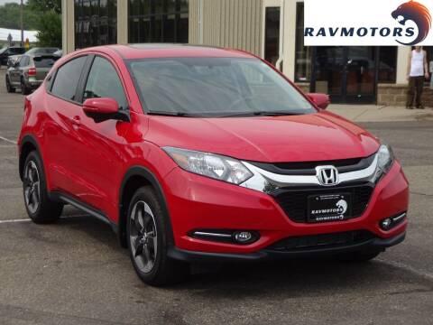 2018 Honda HR-V for sale at RAVMOTORS 2 in Crystal MN