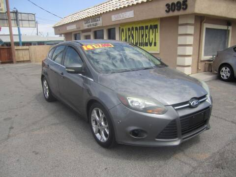 2014 Ford Focus for sale at Cars Direct USA in Las Vegas NV
