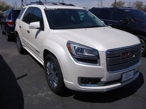 2013 GMC Acadia for sale at Village Auto Outlet in Milan IL