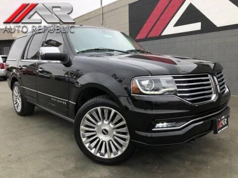 2015 Lincoln Navigator for sale at Auto Republic Fullerton in Fullerton CA