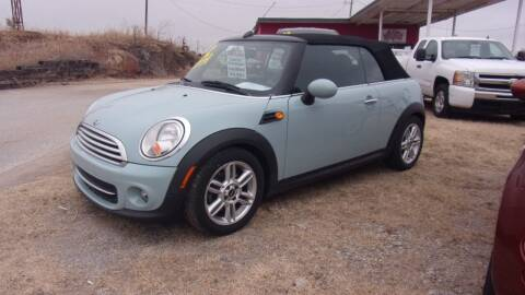 2012 MINI Cooper Convertible for sale at 6 D's Auto Sales MANNFORD in Mannford OK