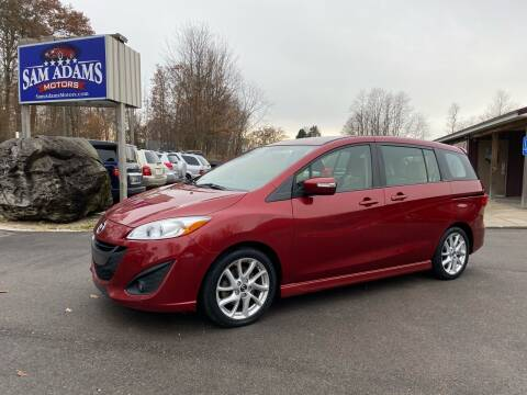 2013 Mazda MAZDA5 for sale at Sam Adams Motors in Cedar Springs MI