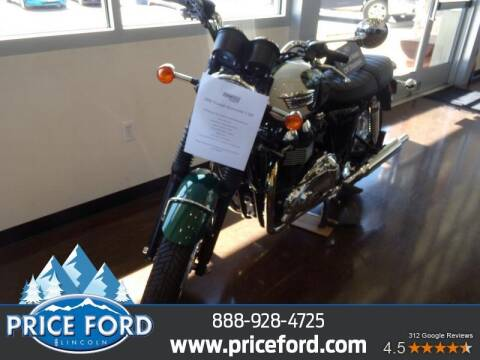 2009 Triumph Bonneville for sale at Price Ford Lincoln in Port Angeles WA