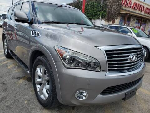 2011 Infiniti QX56 for sale at USA Auto Brokers in Houston TX