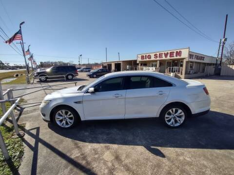 2010 Ford Taurus for sale at BIG 7 USED CARS INC in League City TX