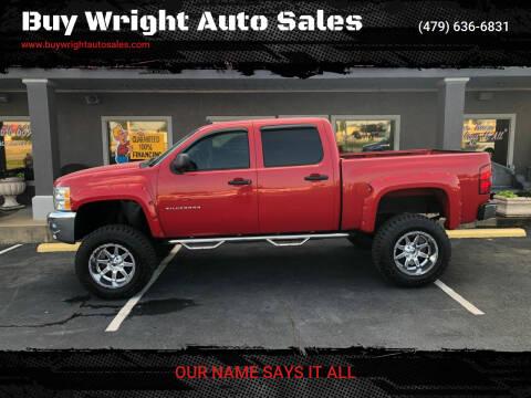 2012 Chevrolet Silverado 1500 for sale at Buy Wright Auto Sales in Rogers AR