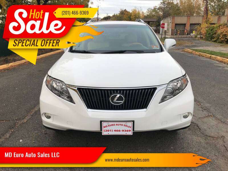 2010 Lexus RX 350 for sale at MD Euro Auto Sales LLC in Hasbrouck Heights NJ