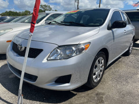 2010 Toyota Corolla for sale at EXECUTIVE CAR SALES LLC in North Fort Myers FL