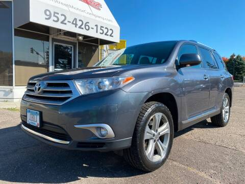 2013 Toyota Highlander for sale at Mainstreet Motor Company in Hopkins MN