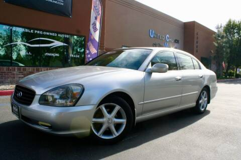 2003 Infiniti Q45 for sale at CK Motors in Murrieta CA