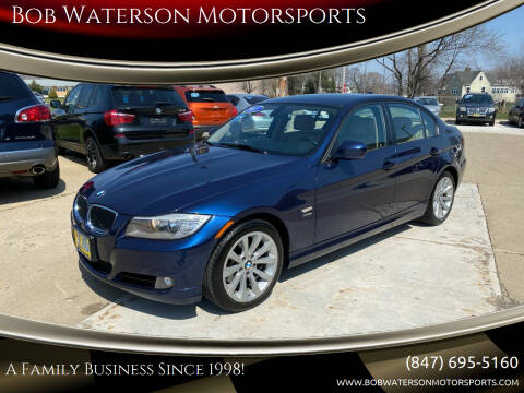 2011 BMW 3 Series for sale at Bob Waterson Motorsports in South Elgin IL