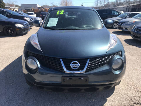 2012 Nissan JUKE for sale at SOUTHWAY MOTORS in Houston TX
