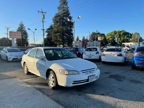 2001 Honda Accord for sale at Blue Eagle Motors in Fremont CA