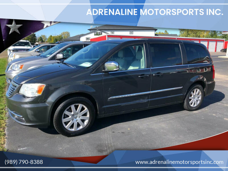 2012 Chrysler Town and Country for sale at Adrenaline Motorsports Inc. in Saginaw MI